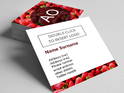 Square Business Cards (2 sided)