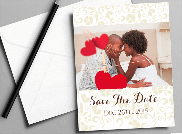 Save The Date (A6 sizes)