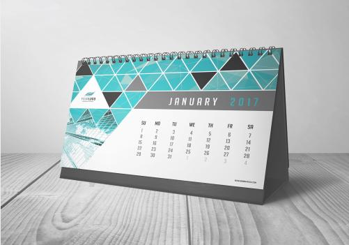 A5 Table Calendar (7 Sheets)