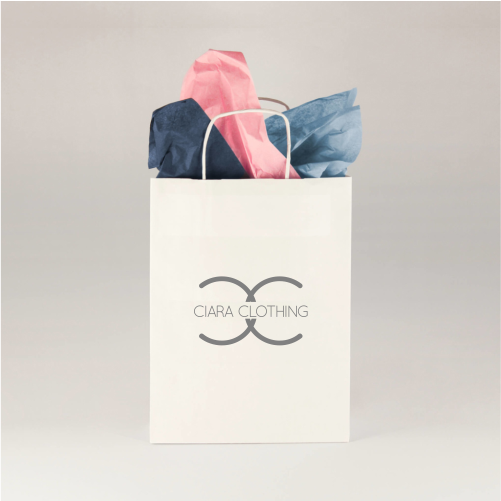 A4 Branded Paper Bags