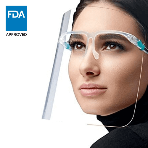 Re-usable Face Shield Glasses